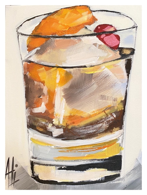 """Old Fashioned"" 16 x 12"