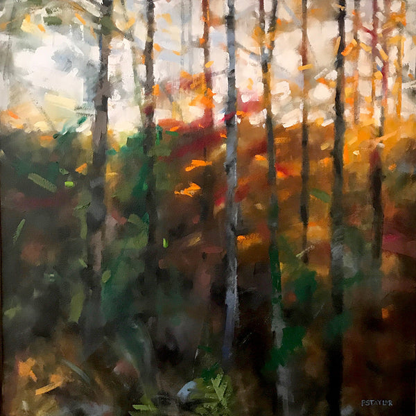 """Light Fall"" 24x24"