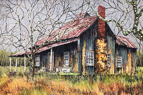 """My Georgia Home""  24""x36"""