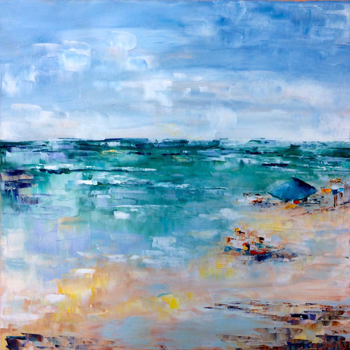 """Perfect Beach Day""  30""x30"""