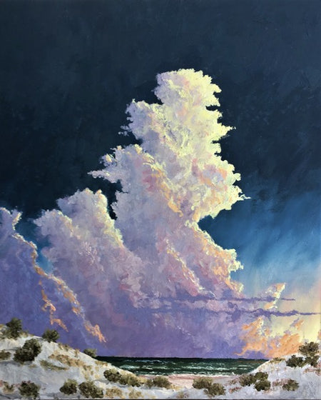 """Evening Towers II"" 24 x 30"