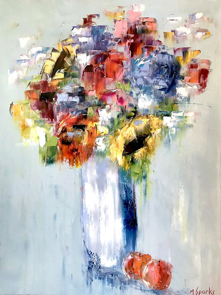 """A Passion for Poppies""   40""x40"""
