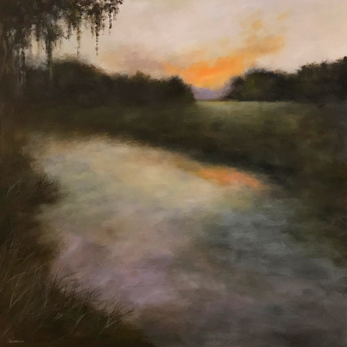 """Evening Transition""   36""x36"""