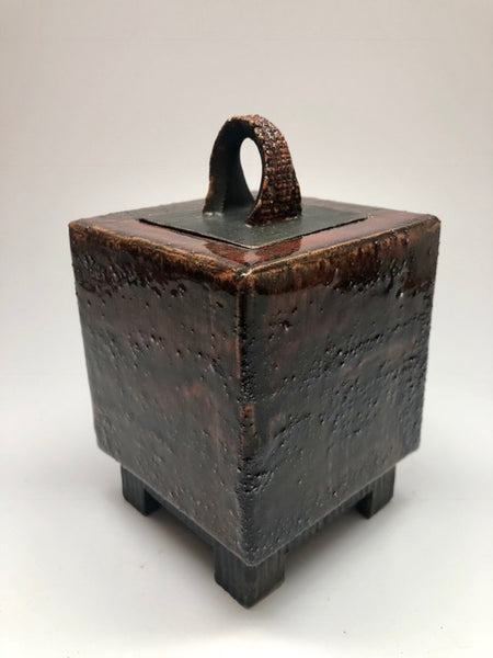 """Medium Treasure Box with Lid""   6x3x3"