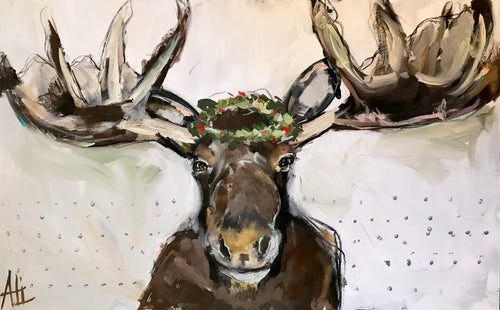 """Moose Munch""   48""X30"""