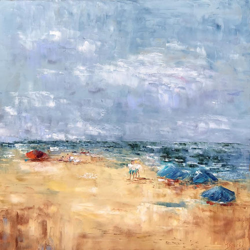 """Perfect Beach Day"" 36x36"
