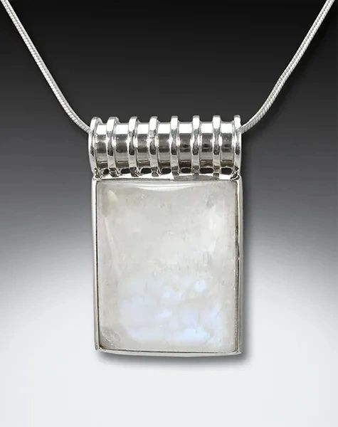 Scroll top Moonstone Pendant
