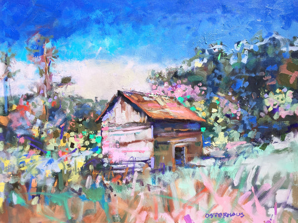 """Shack in the Underbrush""   30x40"