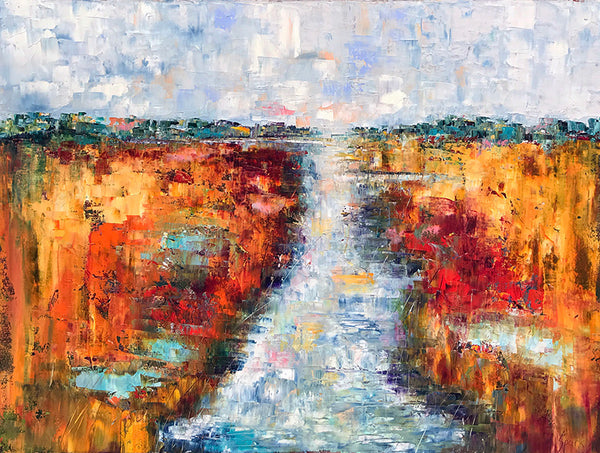 """Splendor in the Marsh""    40""X30"""