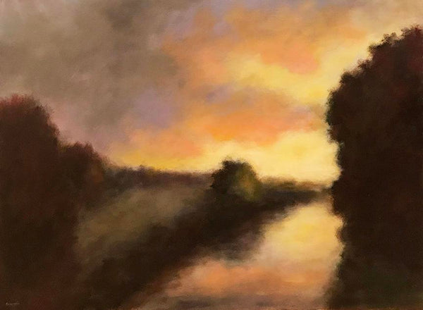 """View From the Bridge""   30""x40"""