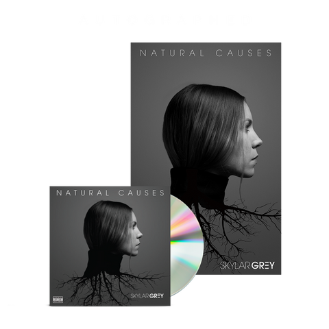 Natural Causes Poster + Autographed CD