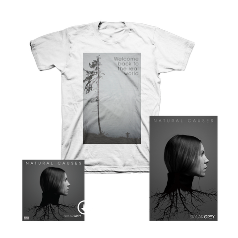 Natural Causes T-Shirt + Poster + Digital Album
