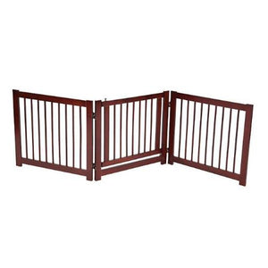 Configurable Pet Gate With Door 24 Inch - For Dogs - dog-collar-fancy