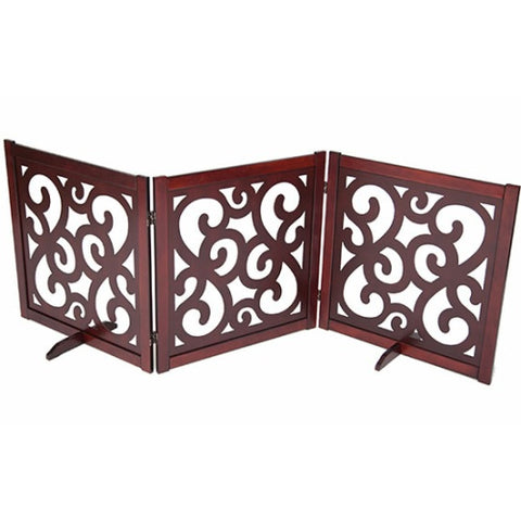 Classic Designer Dog Gate 27 inch - For Dogs - dog-collar-fancy