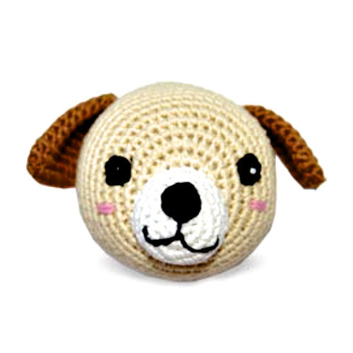 Crocheted Dog Ball - For Dogs - dog-collar-fancy