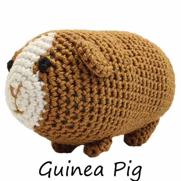 Goober the Guinea Pig Organic Cotton Small Dog Toy