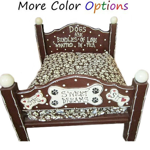 Bundles of Love custom made dog bed.