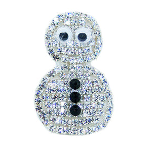 Ladies Brooch - Snowman