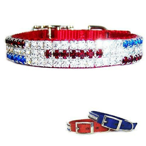 USA Proud Patriotic Pet Collar - dog-collar-fancy
