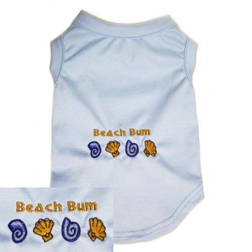 Dog Shirt - Beach Bum - Small to Medium Dogs - dog-collar-fancy