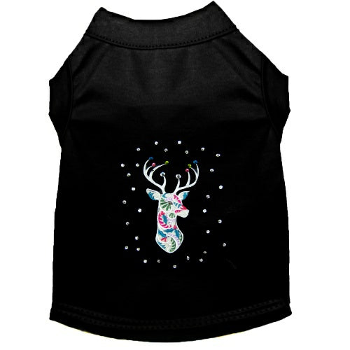 Fancy Reindeer Christmas Dog Shirt - Small to Large Dogs - dog-collar-fancy