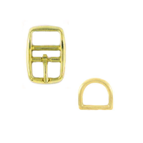 Brass Hardware option for pet collars