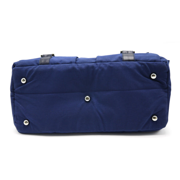 Buckle Style Pet Carrier in Navy bottom view