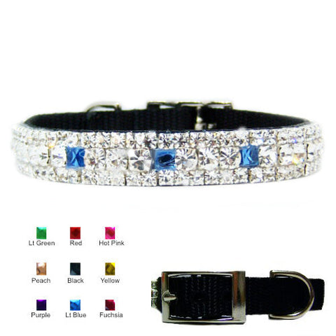 Crystal Treasures Custom Pet Collar - dog-collar-fancy