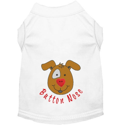Button Nose Dog Shirt - Small to Large Dogs - dog-collar-fancy