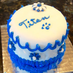 Dog birthday cakes, cupcakes and dog birthday party ideas.