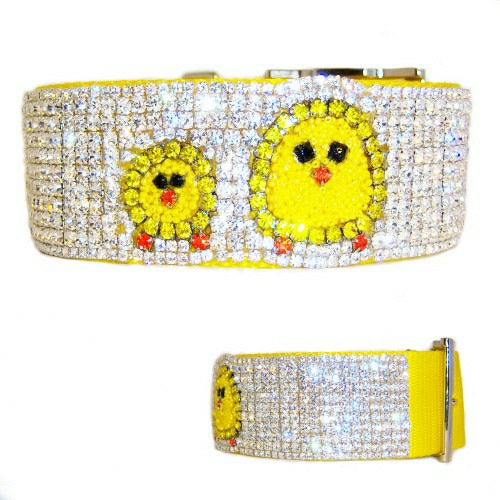 Designer Easter dog collar for large dogs