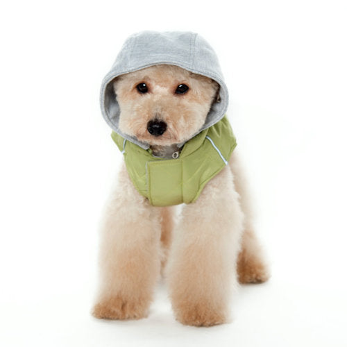 Warm Puffer Dog Coat - dog-collar-fancy