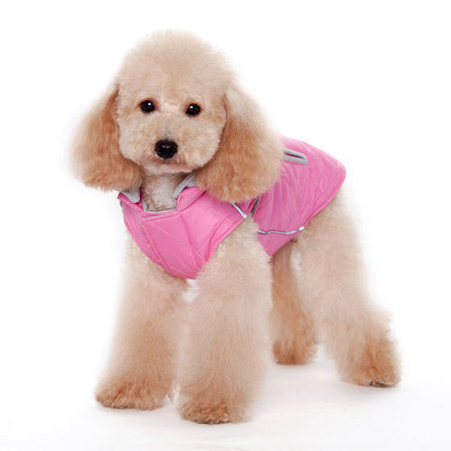 Warm Puffer Dog Coat - Dog Collar Fancy - dog-collar-fancy