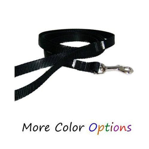 Custom Pet Leash with Accent Crystals - dog-collar-fancy