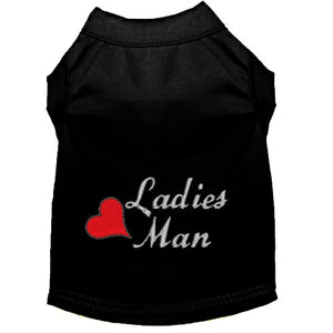 Dog Shirt - Ladies Man - Small to Large Dogs - dog-collar-fancy