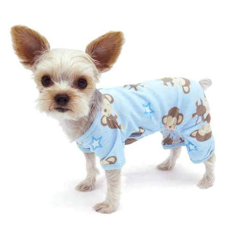 Happy Monkeys Dog Pajamas dog model