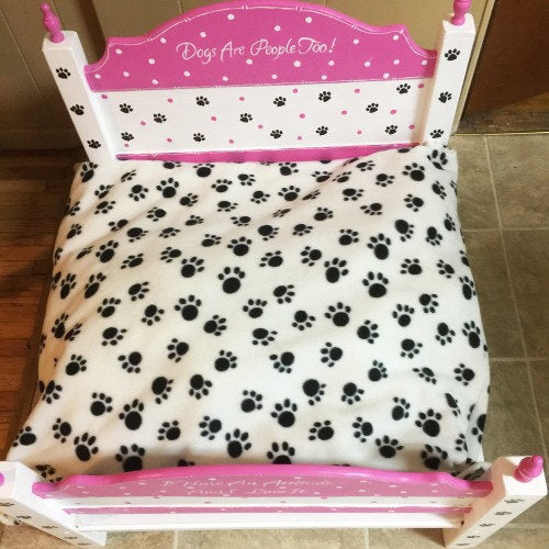 Dogs are People Too Dog Bed - For dogs and cats - dog-collar-fancy