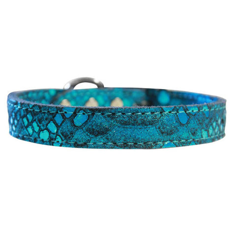 Dragon Pet Collar in blue