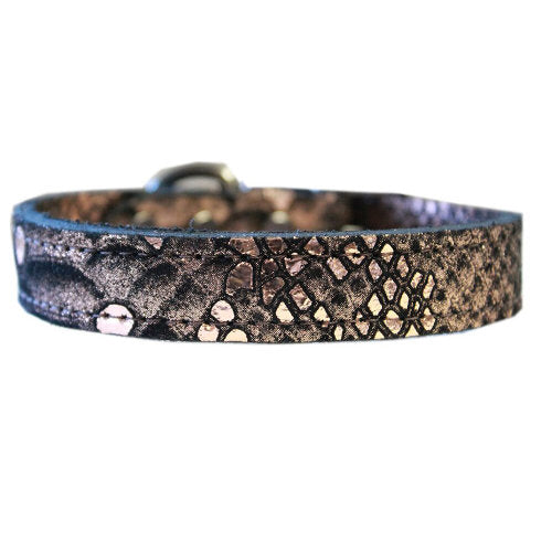 Dragon Pet Collar in copper