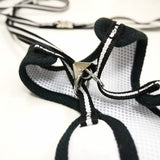 Formal Tuxedo Dog Harness with Bow Tie with free leash