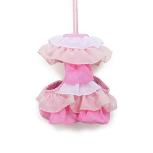 EasyGo multi ruffle pink dog harness.
