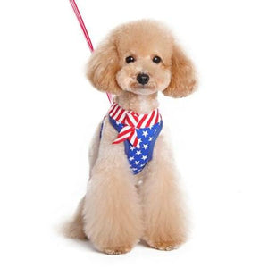 EasyGo Patriotic Dog Harness - dog-collar-fancy