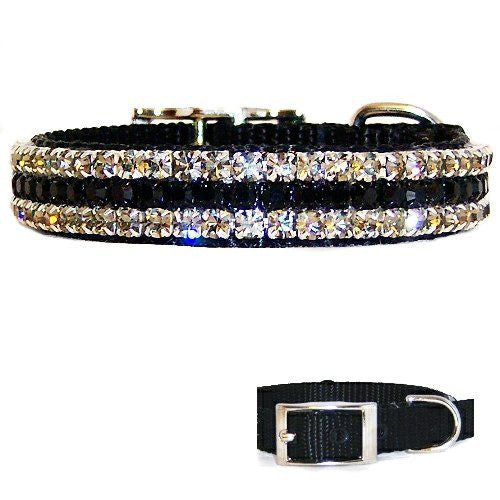Evening Formal Crystal Pet Collar - For dogs and cats - dog-collar-fancy
