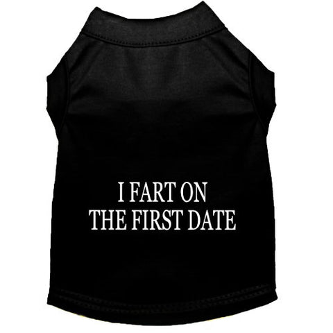 I Fart on the First Date Dog Shirt