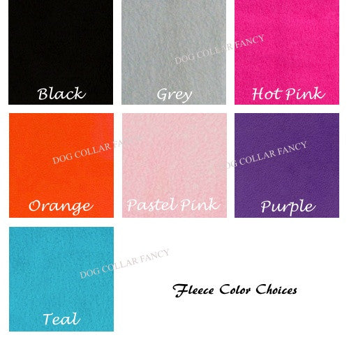 fleece color chart.