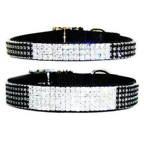 Grand Entrance Crystal Pet Collar - For dogs and cats - dog-collar-fancy