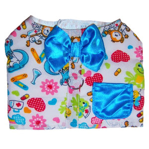 Helpful Hound dog harness with satin bow tie and pocket