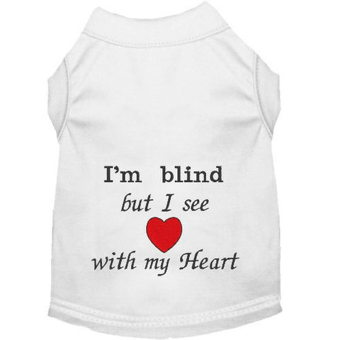 Dog Shirt for Blind Dogs - Small to Large Dogs - dog-collar-fancy