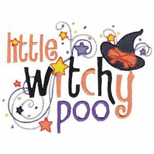 Halloween Dog Shirt - Little Witchy Poo - Small to Large Dogs - dog-collar-fancy