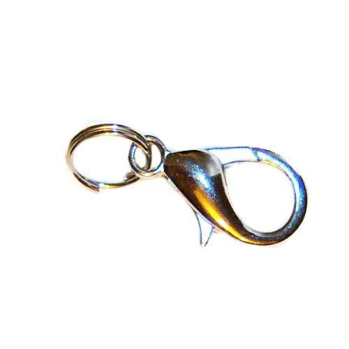 Free lobster clasp and split ring is included with this pet tag.
